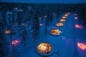 alojamientos peculiares iglú inuit nieve