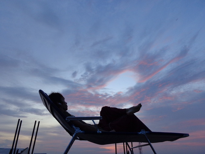 El turismo de silencio. La excentricidad de descansar en vacaciones.